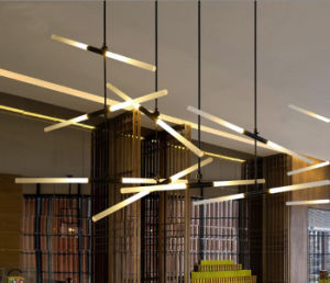 2017 Latest and Popular Modern Style Restaurant/Living Room LED Chandelier Pendant Light Lighting for Hotel pictures & photos