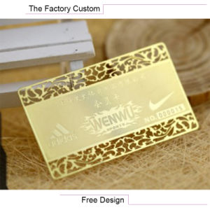 High Quality Corrosion Process VIP Card Customized pictures & photos