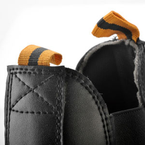 Chukka Safety Shoes Without Lace with Steel Toe pictures & photos