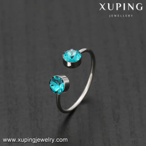 14529 Latest High Quality Rhodium Plated Crystal Open Ring pictures & photos