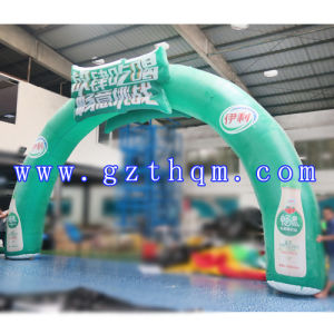 Outdoor Advertising Inflatable Arch/Finish Line Inflatable Arch with Logo pictures & photos