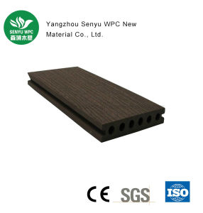 140*30 Round Hole WPC Decking pictures & photos