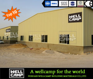 Wellcamp Steel Structure/Steel Workshop/Steel Warehouse/Prefab Workshop pictures & photos