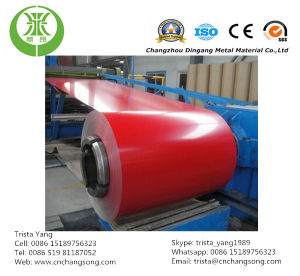 Prepainted Aluminum Coil/Sheet for Gutter and Down Spout Making pictures & photos
