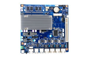 Net2550 Mini-Itx Motherboard with 4 LAN, 8 USB, 6 COM pictures & photos