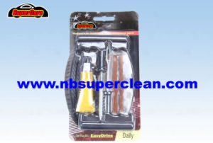 Car Bike Auto Tubeless Tire Tyre Puncture Plug Repair Tool Kit pictures & photos