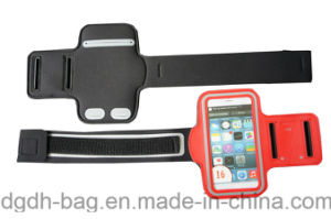 High Quality Competitive Price Waterproof Fluorescent Reflective Armband pictures & photos