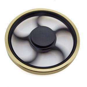 Hand Spinner New Fingertip Gyroscope High Speed Round Wheel Fidget Spinner pictures & photos
