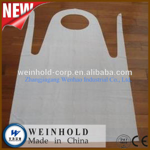 Disposable Plastic HDPE LDPE Medical Apron pictures & photos