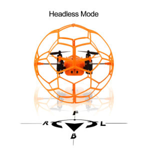 1491340-Max Sky Walker 1340 2.4GHz 4CH Fly Ball RC Quadcopter 3D Flip Roller Headless Mini Drone pictures & photos