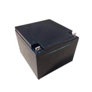 European Market Popular Model 12V 24ah Solar Batteries for Backup pictures & photos
