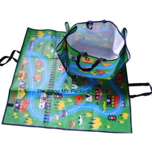 Advertising Non Toxic PP Foldable Leisure Waterproof Beach Picnic Mat pictures & photos