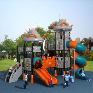 UFO Style Safety and Comfortable Outdoor Playground pictures & photos