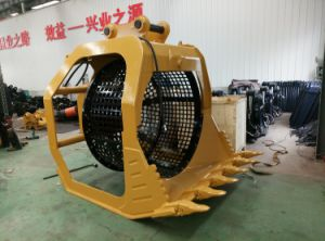 Cat330, PC300 Screener Bucket for Excavator Exported to USA pictures & photos