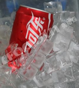 Food Procesing Drinks Cooling 2600lbs Per Day Cube Ice Machine pictures & photos