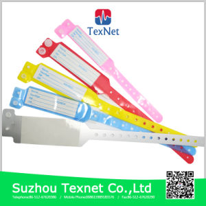 Adjustable Hospital Identification PVC Wristbands for Baby Born pictures & photos