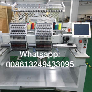 Top Sale 2 Head High Speed Industrial Embroidery Machine with Tajima Software pictures & photos