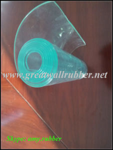 Curtain Strip Sheet Mat/Roll Board Clear/Flexible/Soft Plate Panel PVC Profile pictures & photos