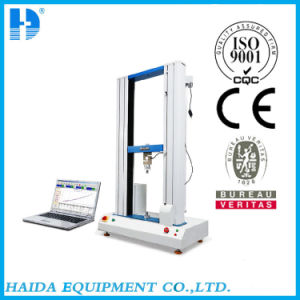 Double Column Computer Servo High Precision Steel Wire Strength Testing Equipment pictures & photos