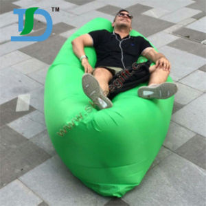 Wholesale Outdoor Air Sofa Bed Inflatable Sleeping Bag pictures & photos