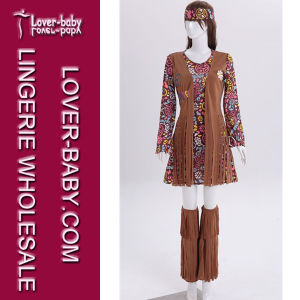 Peace and Love Hippie Women-S Costume L15498 pictures & photos
