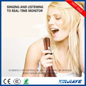 New Handheld Speaker Wireless Bluetooth Microphone with TF Card pictures & photos