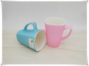 Square Mug with Matte Candy Color pictures & photos