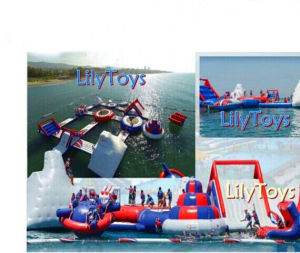 2017 Tarpaulin PVC Inflatable Water Park for Sea pictures & photos