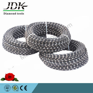 7.2--11.5mm Diamond Wire Rock Saw for Stone Industry pictures & photos