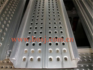 Scaffolding Materials Hot Dipped Galvanzied Scaffolding Tube Punching Production Machine pictures & photos
