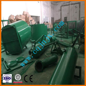 Waste Tire Oil Recycling Pyrolysis Plant Equipment pictures & photos