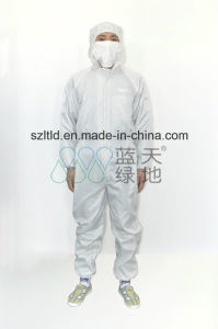 ESD Work Jumpsuit-Hat, Clothing, Pant, Socks Is Connected pictures & photos