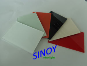 China 2mm - 6mm Thick Double Coated Waterproof Back Painted Glass, Lacquered Glass for Interior Applications  pictures & photos