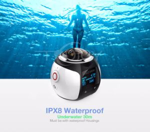 Ultra HD Panorama Camera 360 Degree Sport Driving Vr Camera pictures & photos