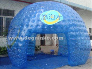 Transparent PVC or TPU Inflatable Dome Tent pictures & photos