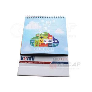 Spiral Bound Printable Trendy Table Calendar pictures & photos