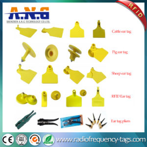 860 - 960 MHz Coding Printing Animal UHF RFID Tags pictures & photos
