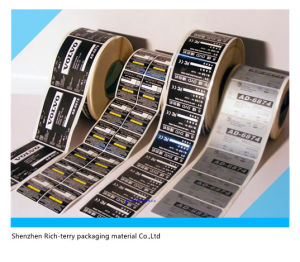 Paper Sticker Adhesive Label Label Printing Label Sticker Self Adhesive Paper Labeling Printed Labels pictures & photos