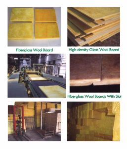 Heat Insulation Glass Wool Blanket with Aluminum Foil for Building pictures & photos