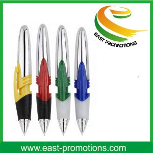 Custom Plastic Ball Point Pen with Logo Printing pictures & photos