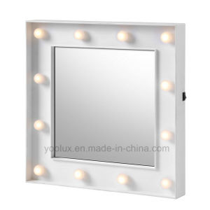 Battery Operated Home Decoration Gift LED Decorative Mirrors pictures & photos
