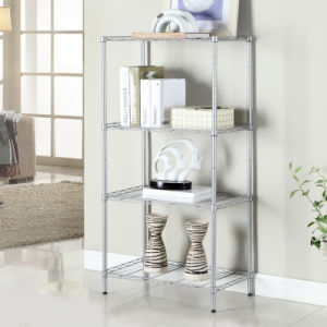 4 Tiers Home Steel Chrome Wire Rack NSF Approval 16 Years Factory pictures & photos
