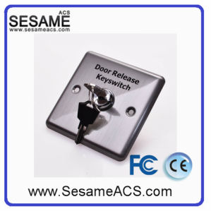 Zinc Alloy No Nc COM Door Button with Backlight with Base (SB53R) pictures & photos