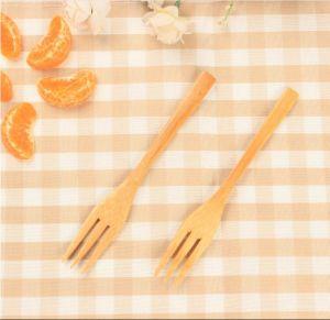 Eco-Friendly Flatware Bamboo Fork Fruit Fork Salad Fork Wooden Fork pictures & photos