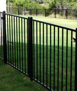 Cheap Aluminum or Steel Swimming Pool Fence with Black Color, Tubular Steel Fence pictures & photos