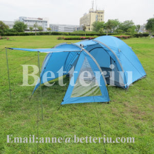 4 Person Tent Large Tent Wind Resistant Tent pictures & photos