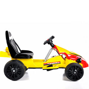 Electric Ride-on Children′s Toy Car- Remote Control Yellow Kart pictures & photos