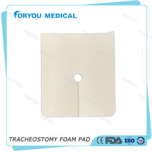 Surgical Wound Dressing Fenestrated Ostomy Silver PU Foam Wound Dressing pictures & photos