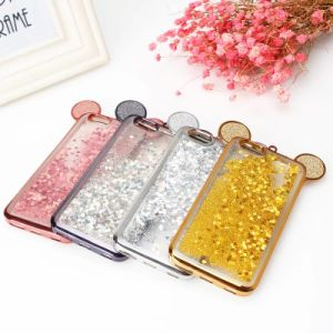 Mouse Liquid Glitter Water Bling Sparkly TPU Soft Phone Case pictures & photos