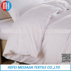 100% Cotton White Bedding Set Home Textile pictures & photos